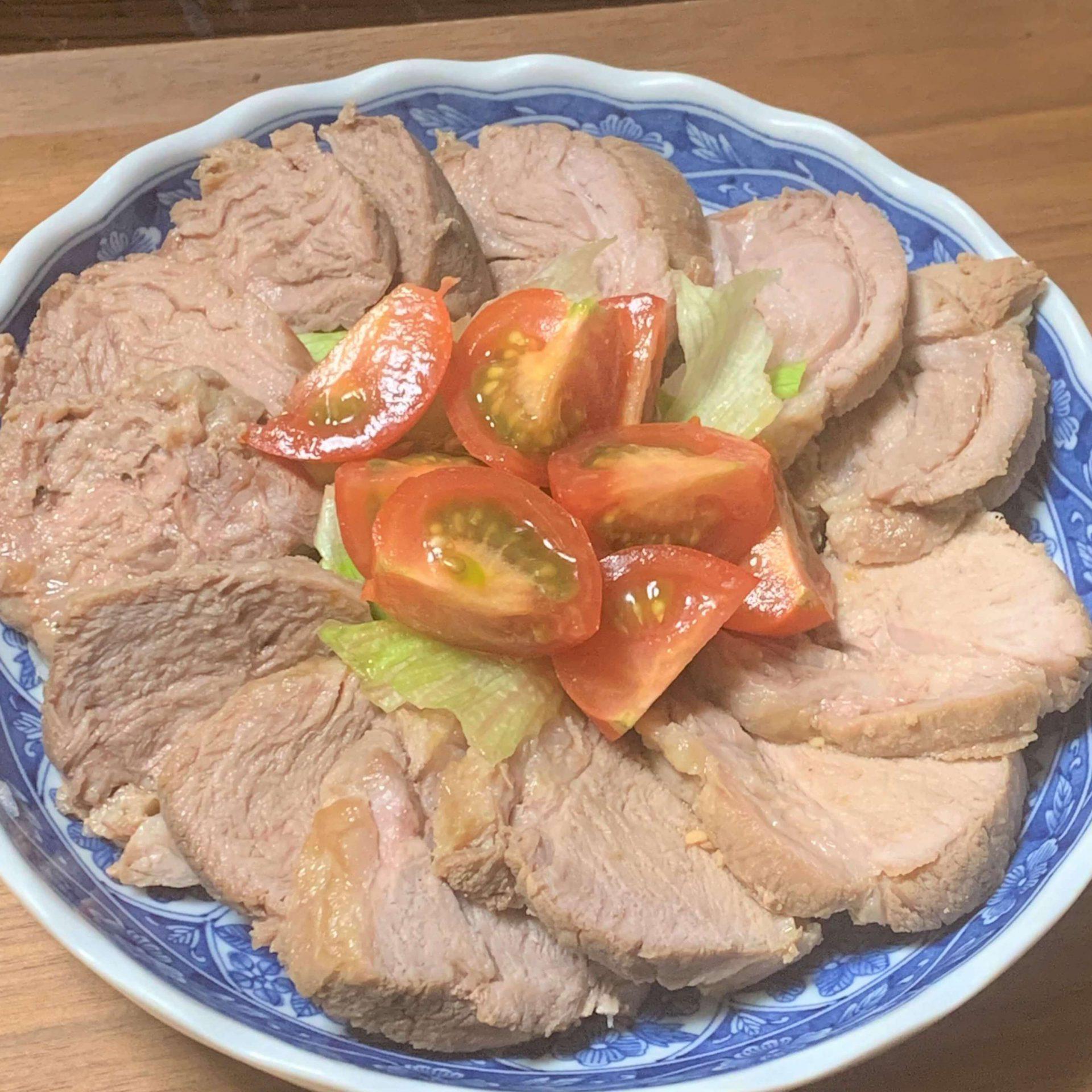 レンジで作り置き☆豚肉のチャーシュー
