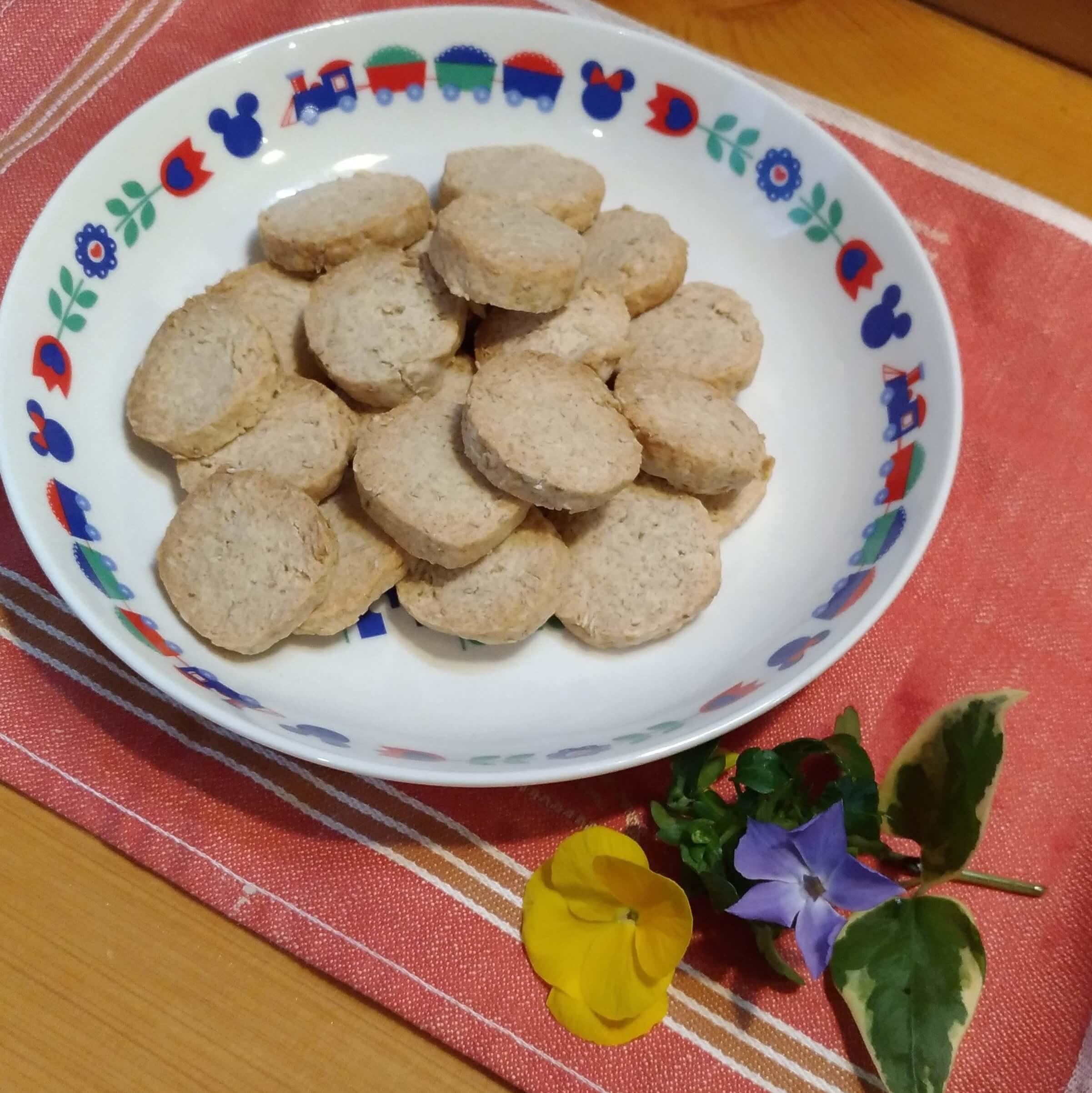 オートミールのアイスボックスクッキー