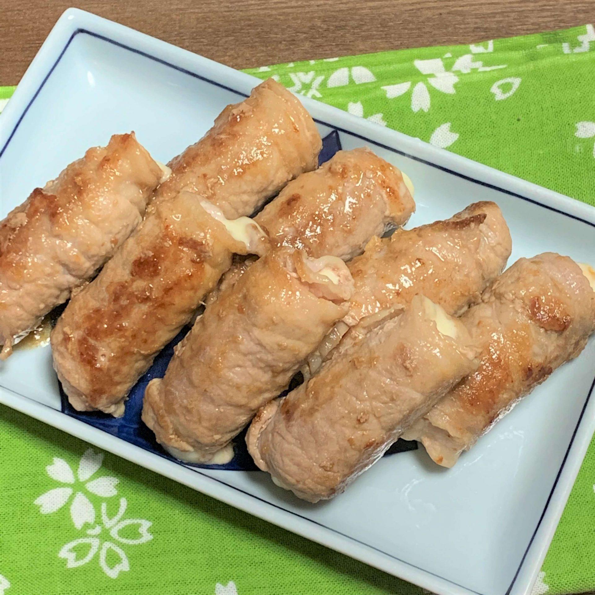 おつまみやお弁当に☆チーちくの肉巻き