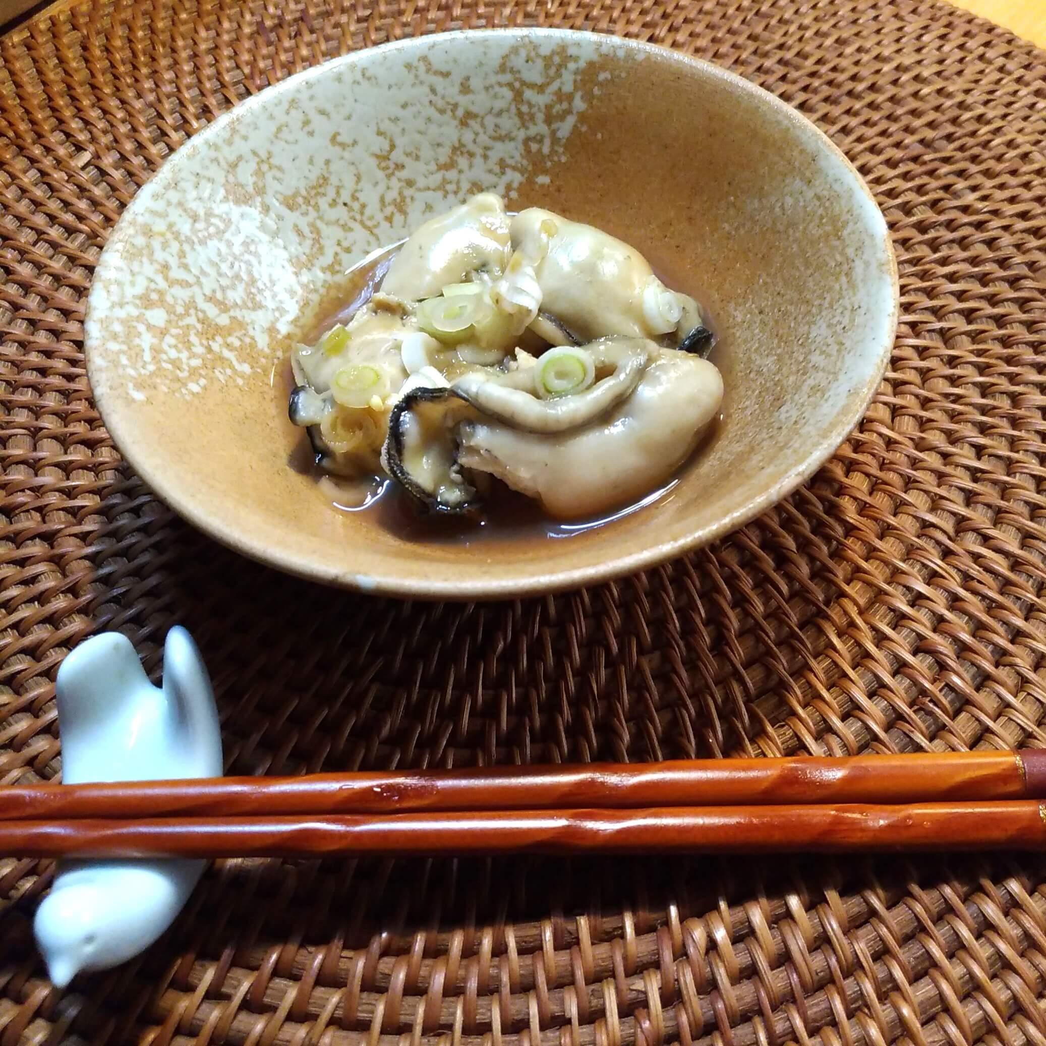 レンジで簡単☆ふっくら蒸し牡蠣